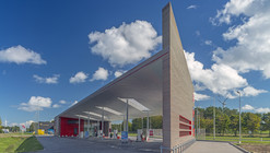 Sustainable Gas Station Avia Marees / Knevel Architecten