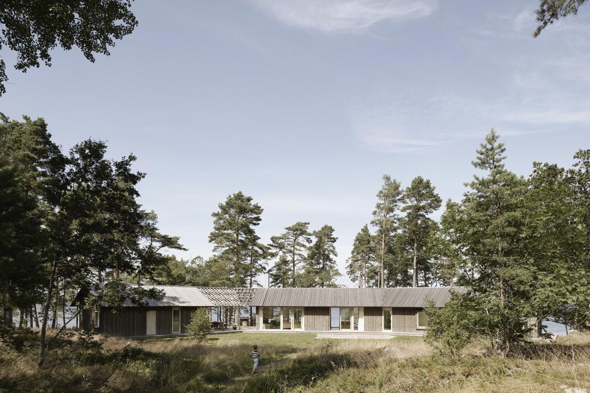 House at Äpplarö / Arrhov Frick Arkitektkontor, © Åke E.son Lindman