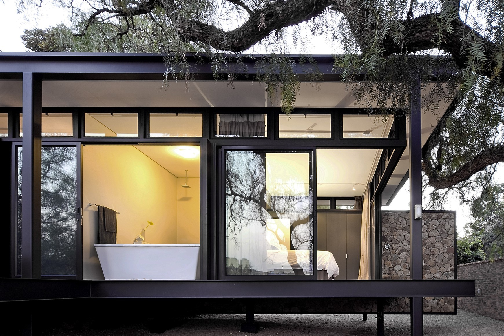 Modern Architecture Johannesburg westcliff pavilion / gass | archdaily
