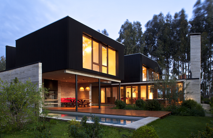 Casa Rocas / UN Arquitectura, © Natalia Vial