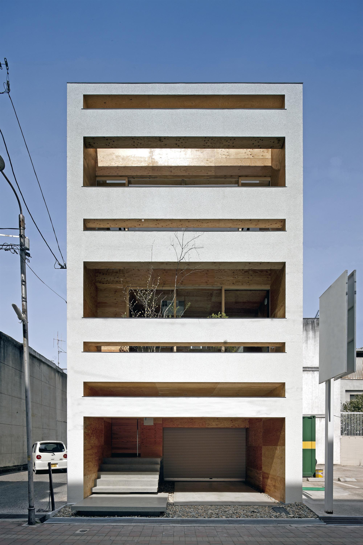 Machi-Building / UID Architects, © Hiroshi Ueda