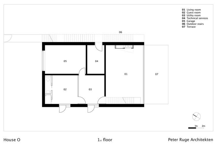 house o peter ruge architekten archdaily brasil. Black Bedroom Furniture Sets. Home Design Ideas