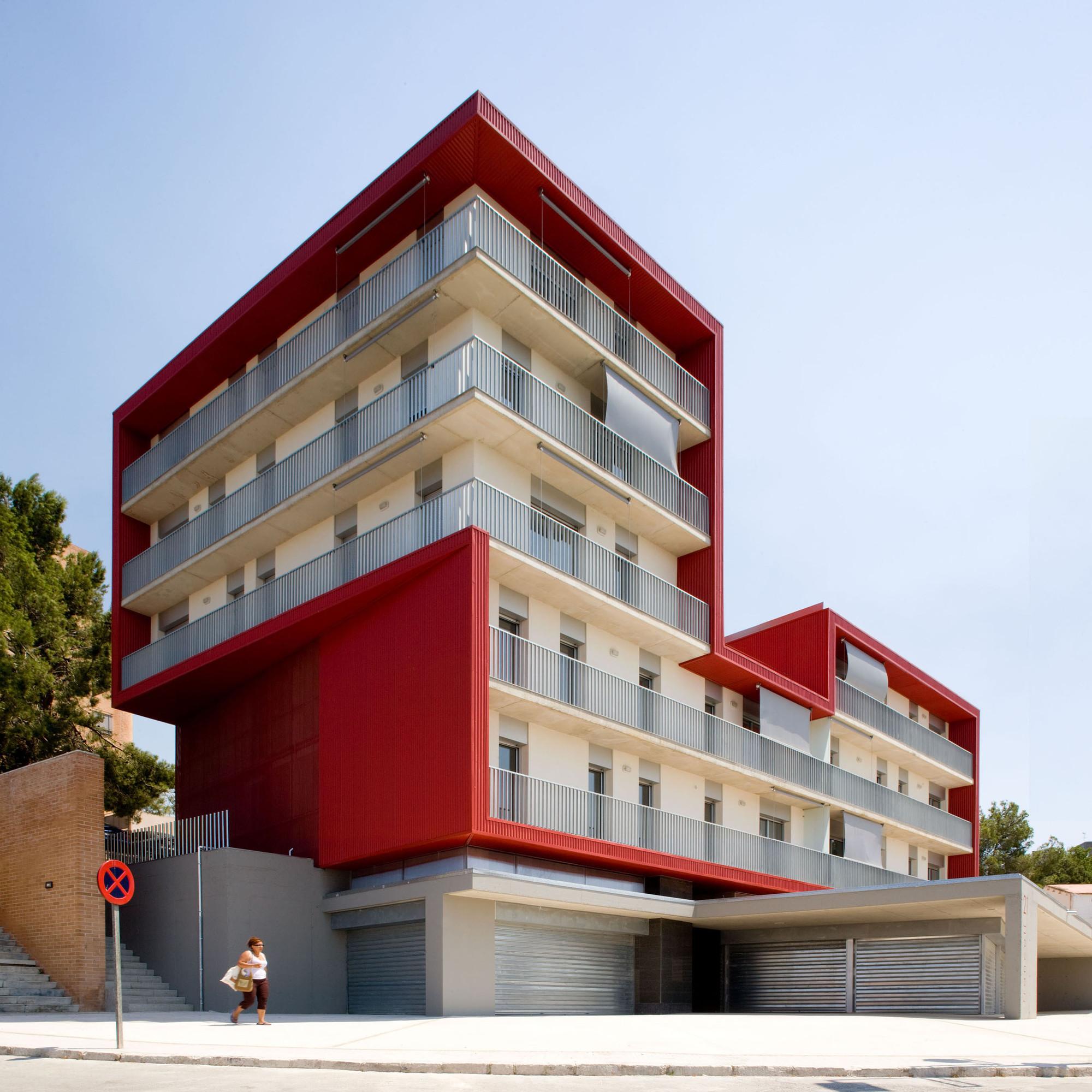 Social Housing Building in Tarragona / Aguilera Guerrero, © Pepo Segura
