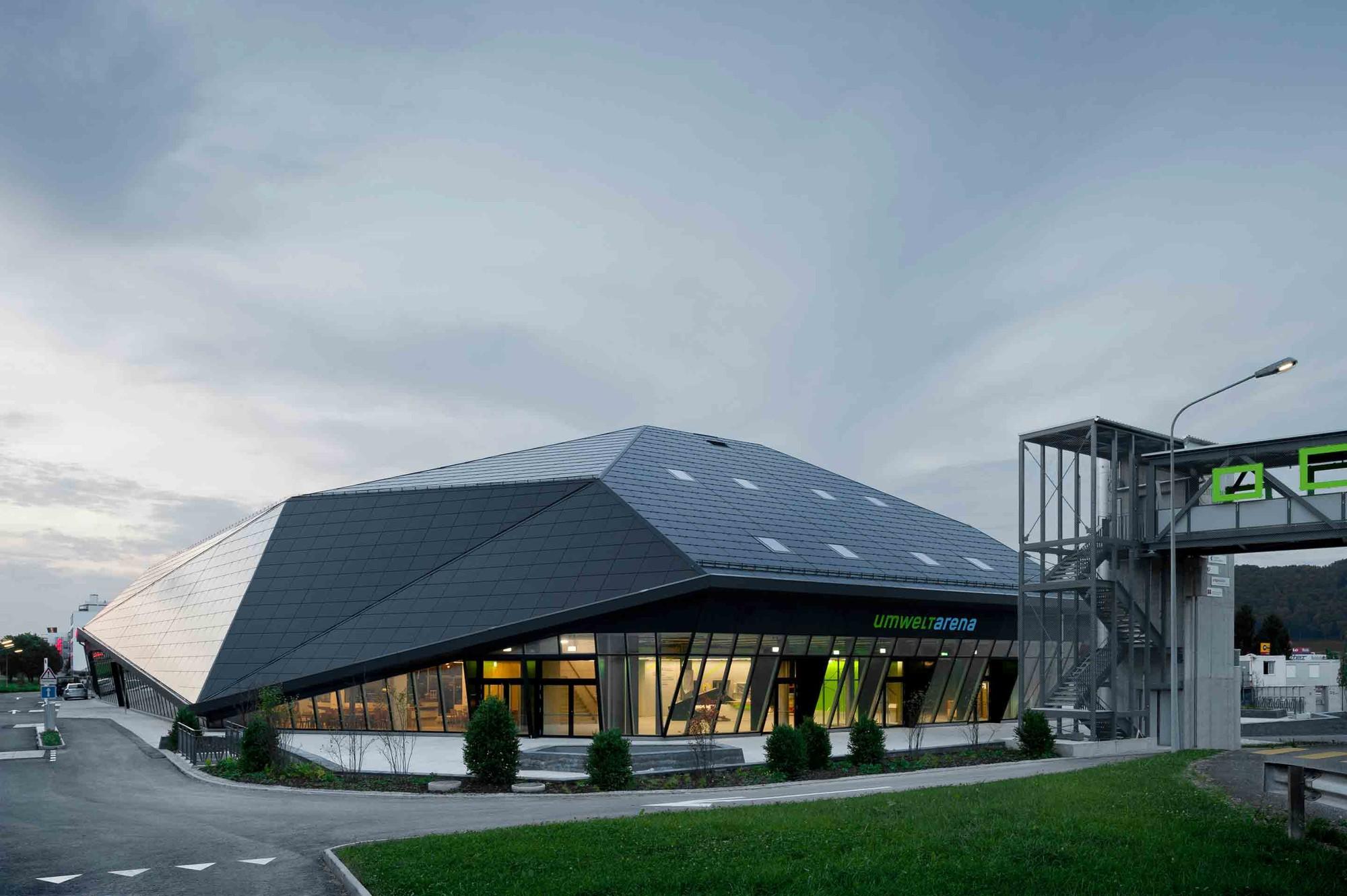 Umwelt Arena / Rene Schmid Architekten, © Michael Egloff