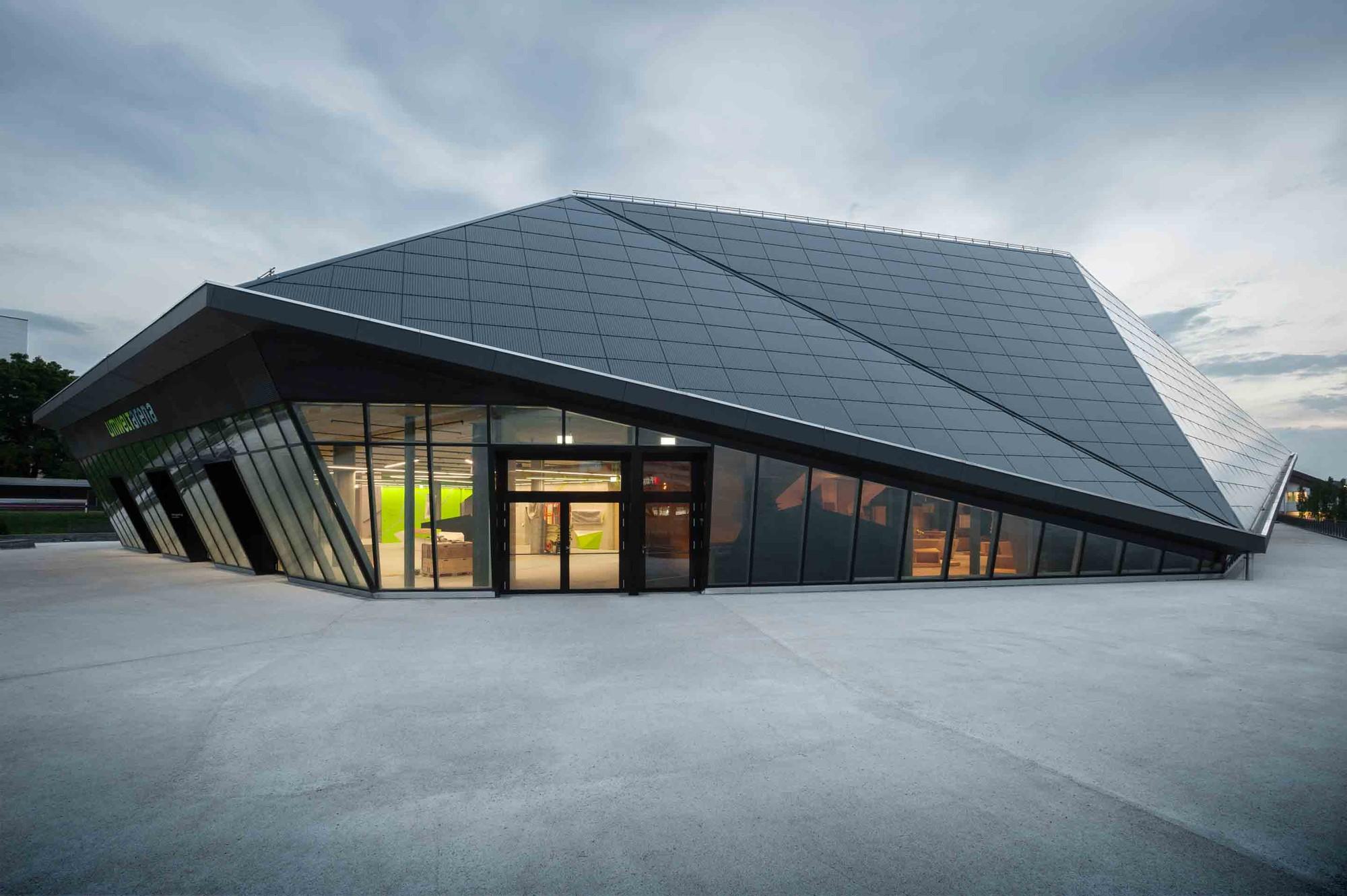 Umwelt Arena / Rene Schmid Architekten