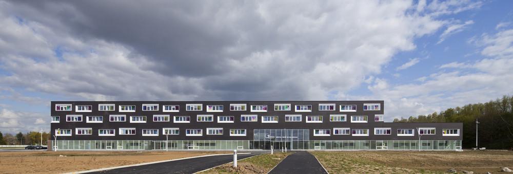 Hospital in Villeneuve d'Ascq / Jean-Philippe Pargade, © Luc Boegly