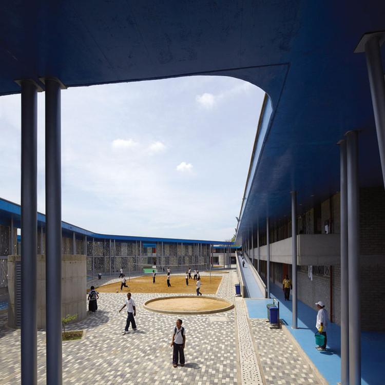 Colégio Flor de Campo / Giancarlo Mazzanti + Plan:b arquitectos (Felipe Mesa), © Cristobal Palma / Estudio Palma