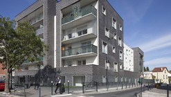 Habitações Saint Denis / Ateliers O-S architectes