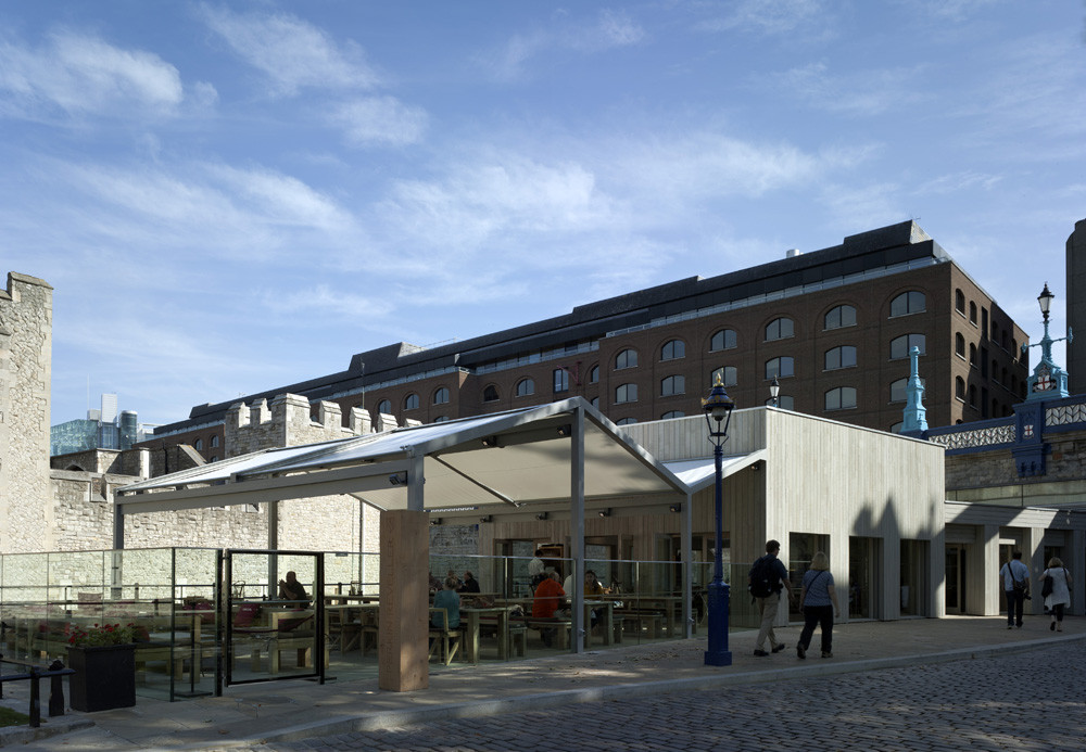 Tower Wharf Cafe / Tony Fretton Architects, © Peter Cook
