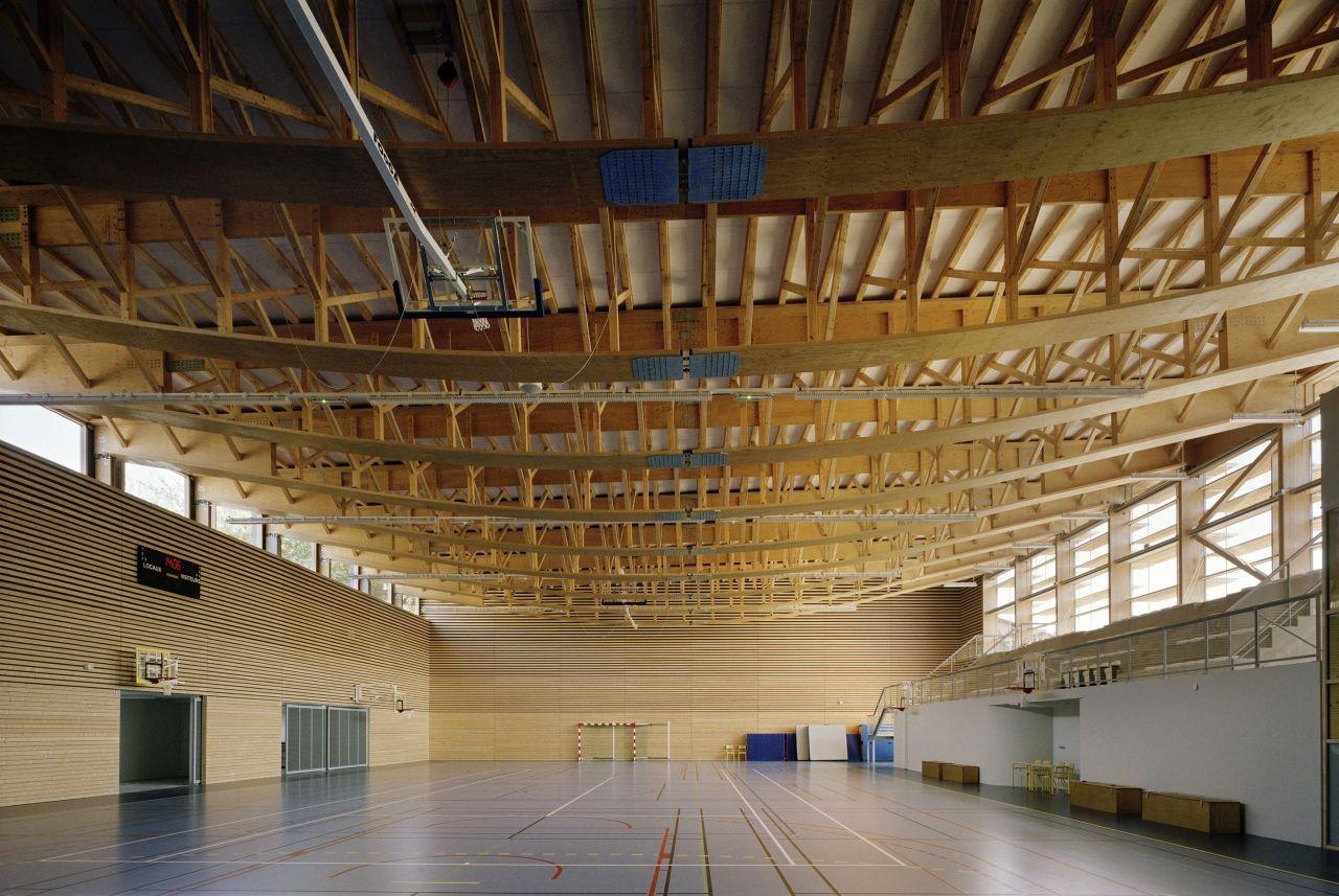 Gallery Of Sunny Gymnasium Tekhn 234 Architectes 3