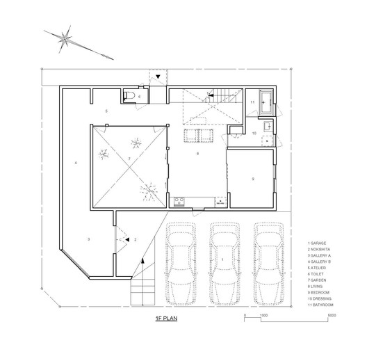 Courtesy of THREE.BALL.CASCADE. Architecture Design Office