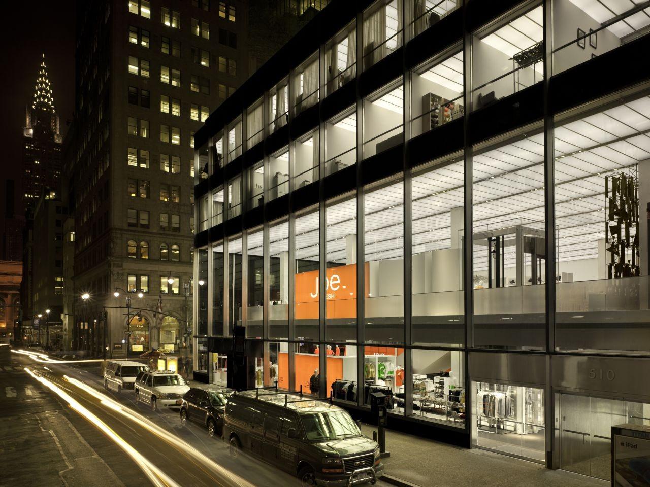 Joe Fresh New York flagship / Burdifilek, © Ben Rahn A-Frame