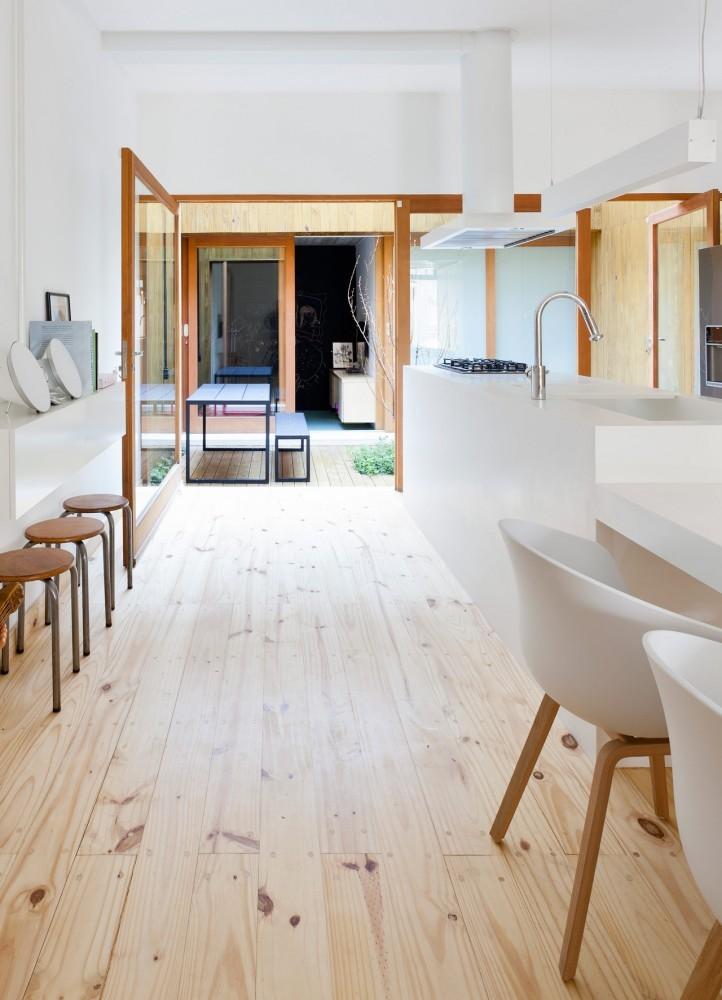 Reforma casa de pueblo studio gga plataforma arquitectura - Casas de pueblo reformadas ...