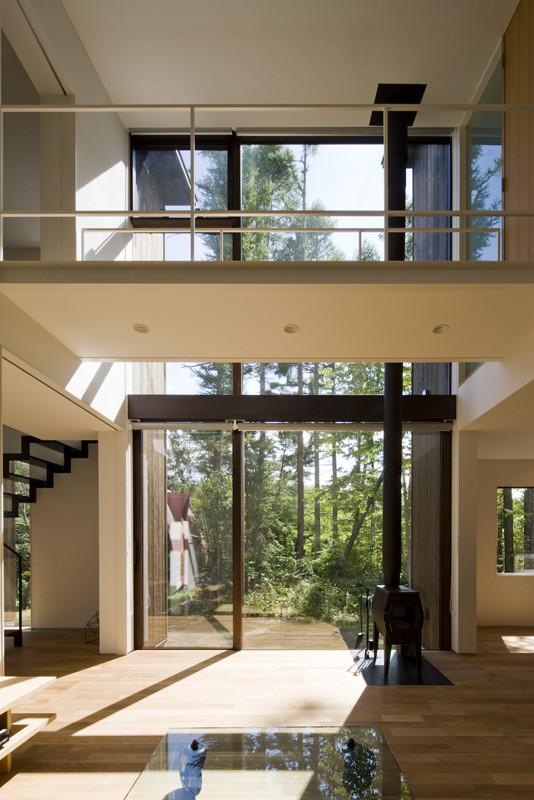 Galer a de casa en karuizawa k s architects 11 for Couchtisch 1 00 x 1 00