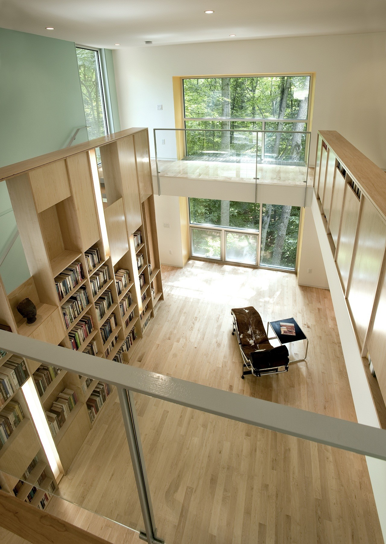 Forest House Kube Architecture Archdaily