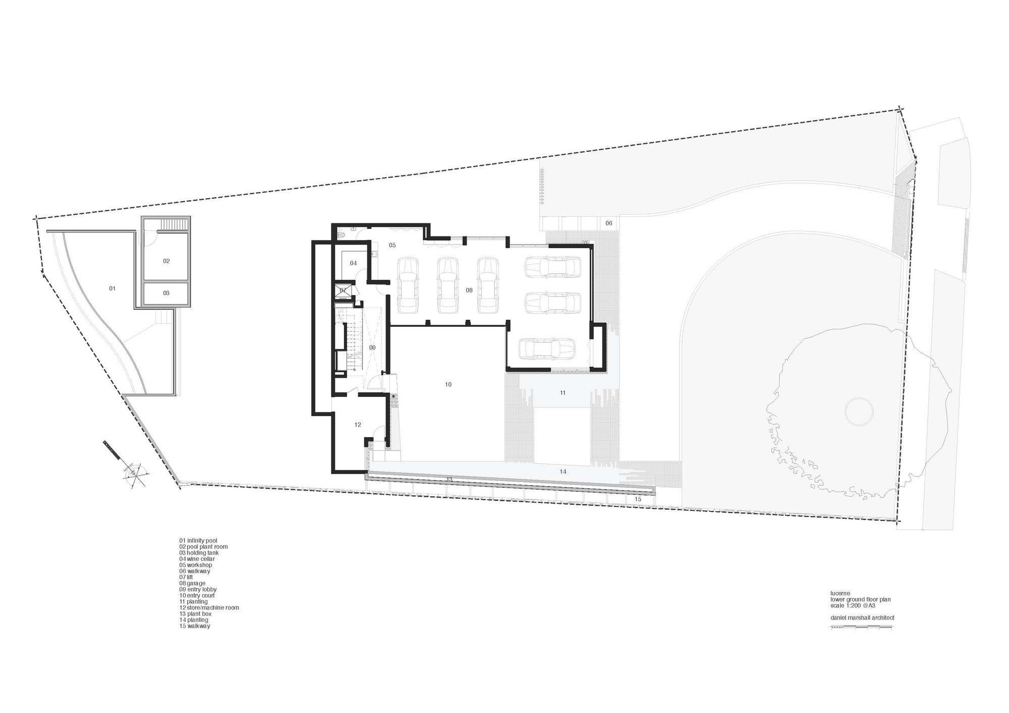 Gallery of lucerne daniel marshall architects 20 - The marshall plan was designed to ...