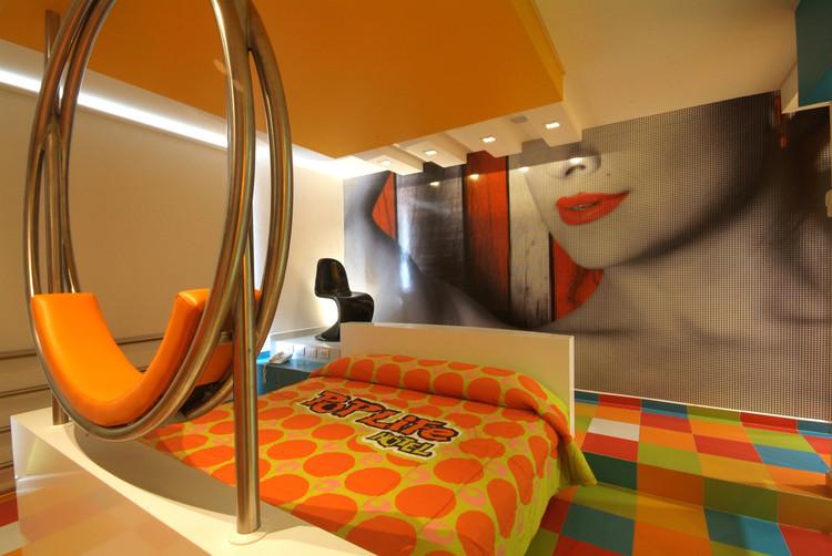 Hotel Pop Life / DIN interiorismo, © Arturo Chávez