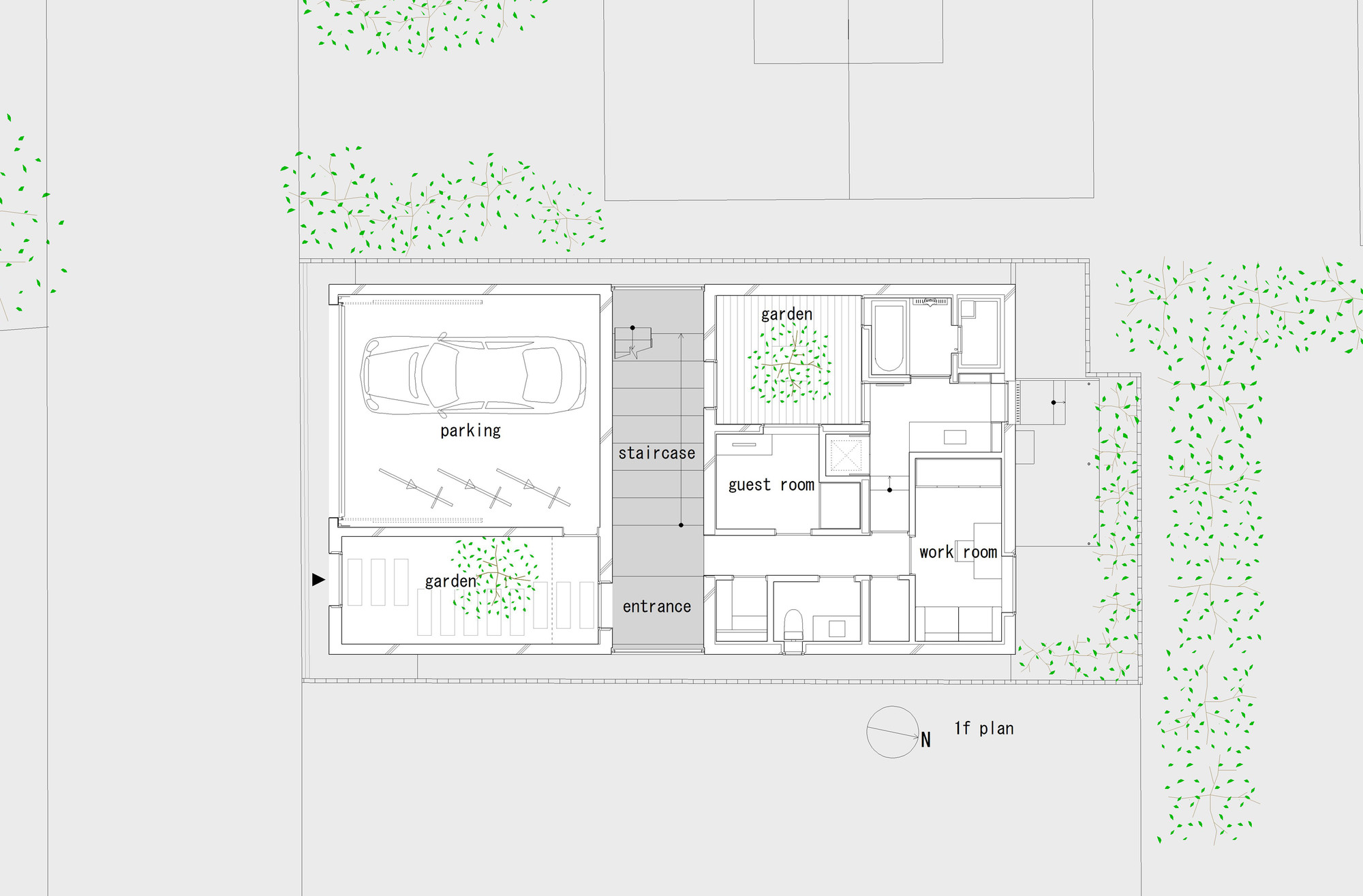 Galeria de casa takanawa hiroyuki ito o f d a 18 - Takanawa house by o f d hiroyuki ito ...