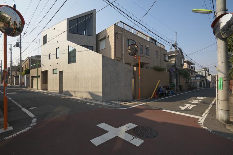 Casa Okusawa / Hiroyuki Ito + O.F.D.A., © Jin Hosoya