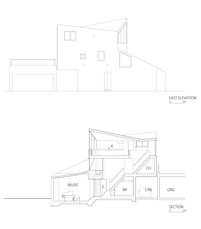 Gallery of okusawa house hiroyuki ito o f d a 14 - Takanawa house by o f d hiroyuki ito ...