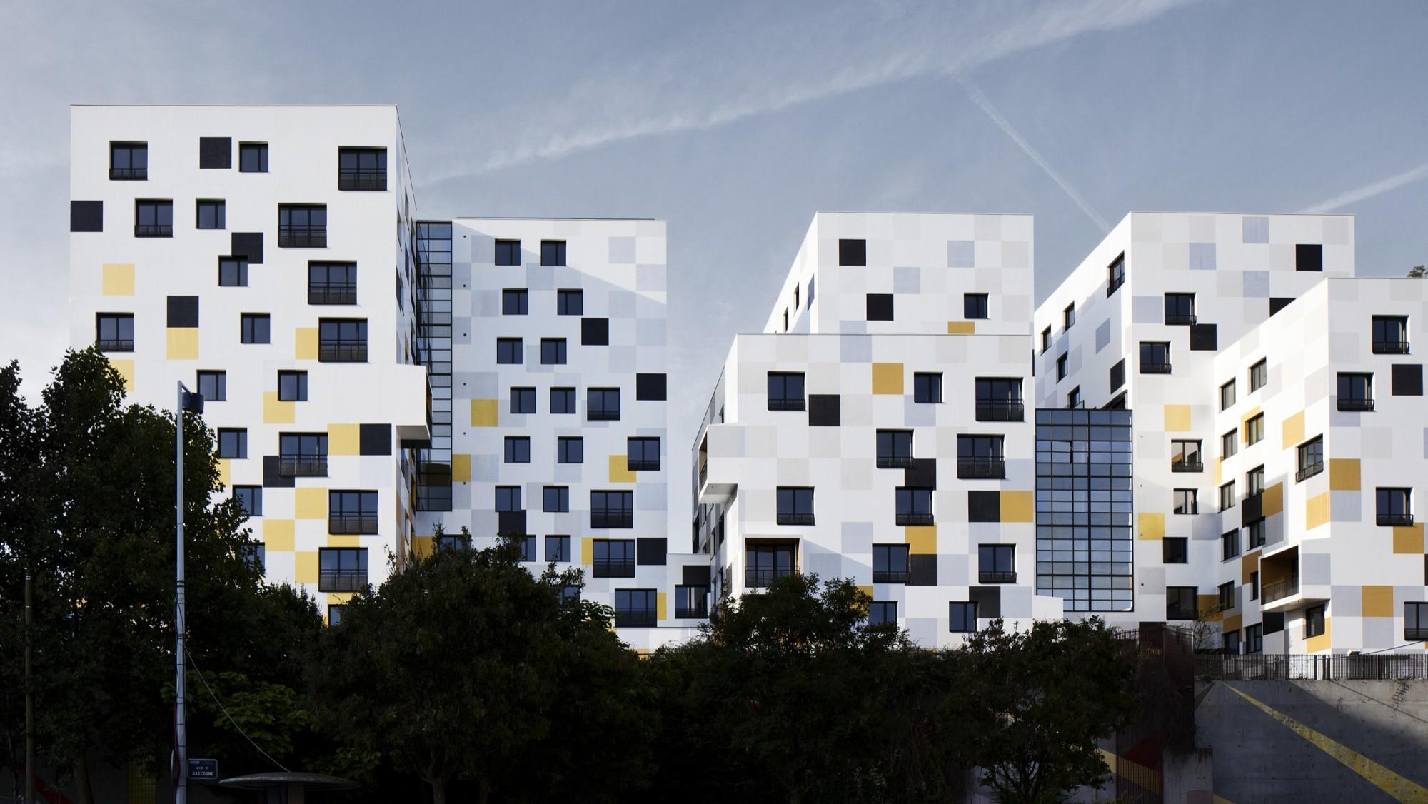 Apartment Blocks In Nanterre X Tu