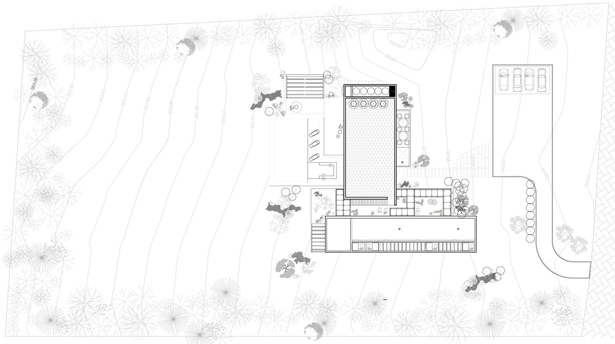 Galer a de condominio el paso de la carrera cavanzo for Materias de la carrera arquitectura