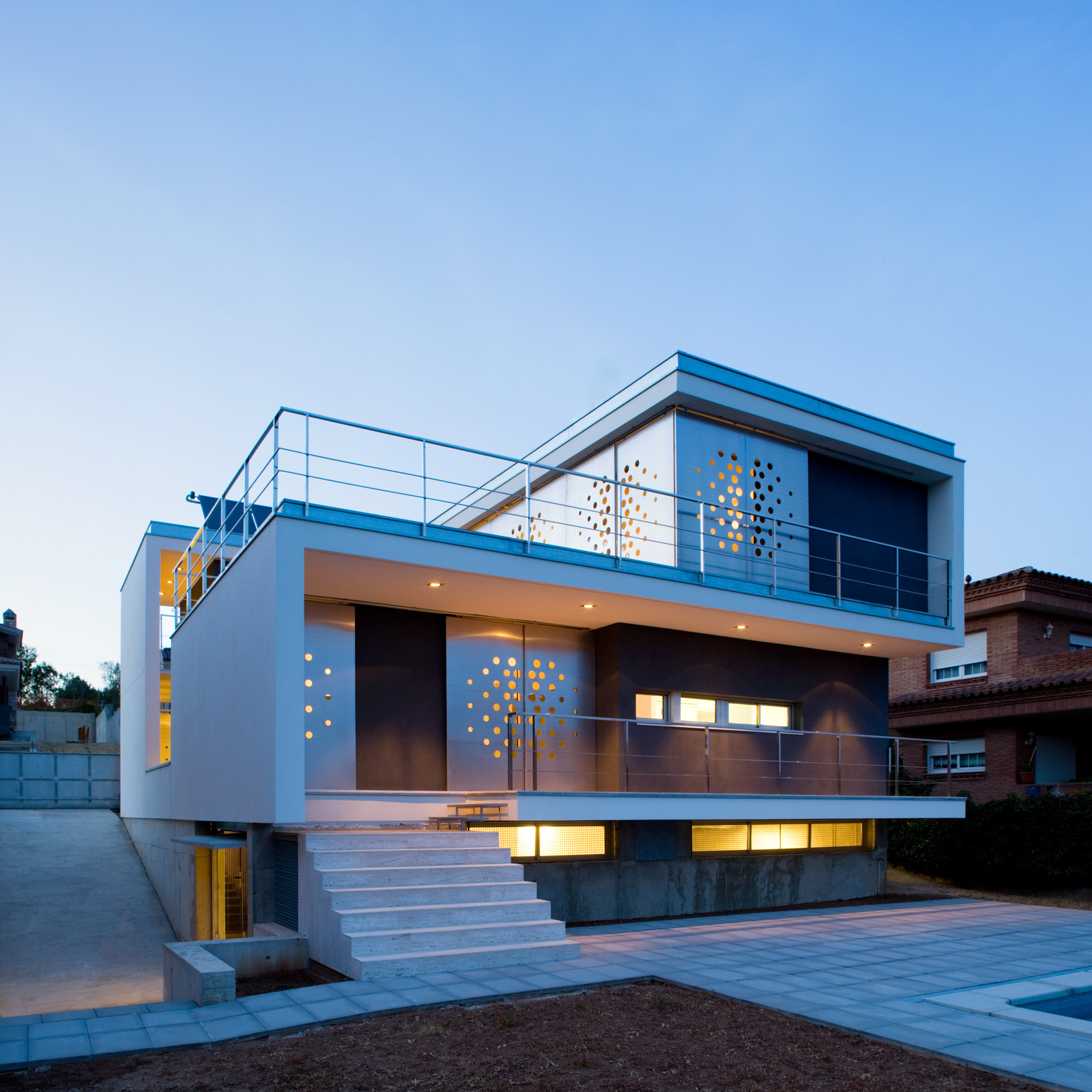 Casa Ch_V / Aguilera Guerrero, © Pepo Segura
