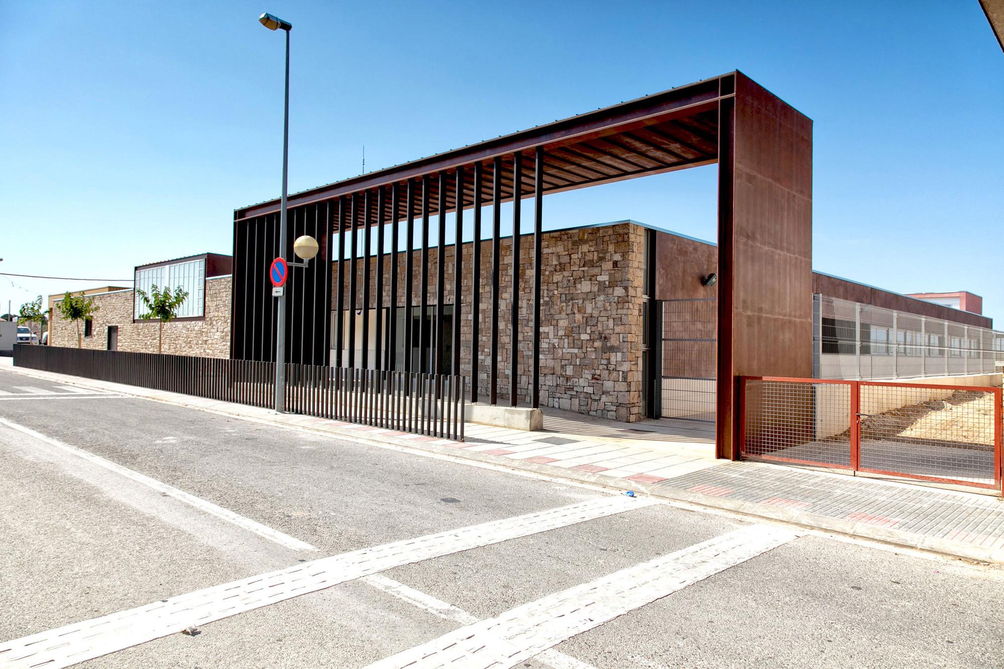 La Fatarella School / Héctor Jala & Mònica Moreno, © Marcus Heilemann