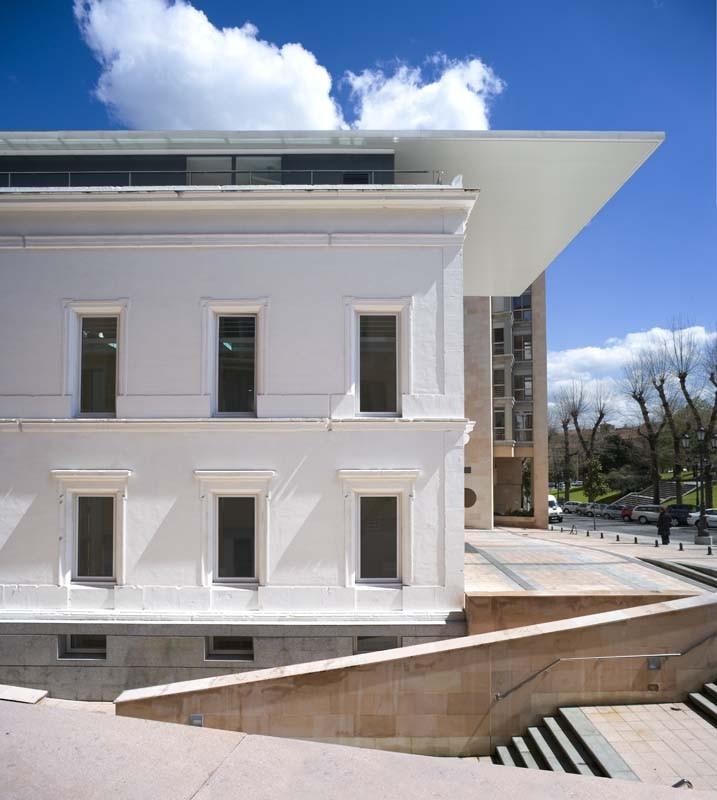 Galer a de sede del colego oficial de arquitectos de asturias en oviedo ru z larrea - Arquitectos en oviedo ...
