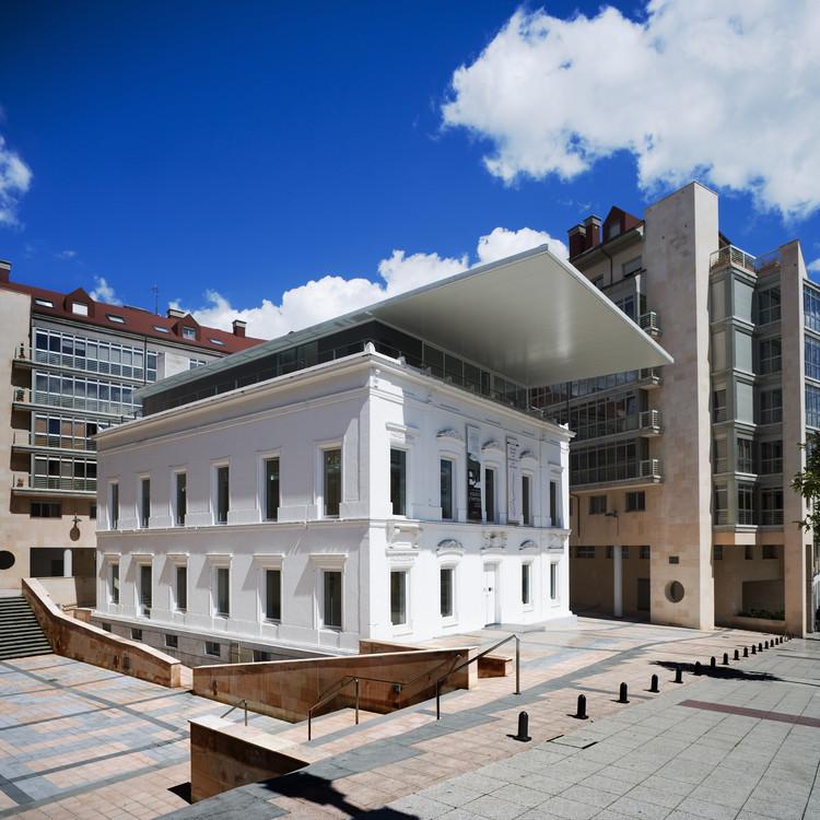 Sede del colego oficial de arquitectos de asturias en oviedo ru z larrea asociados - Arquitectos en oviedo ...