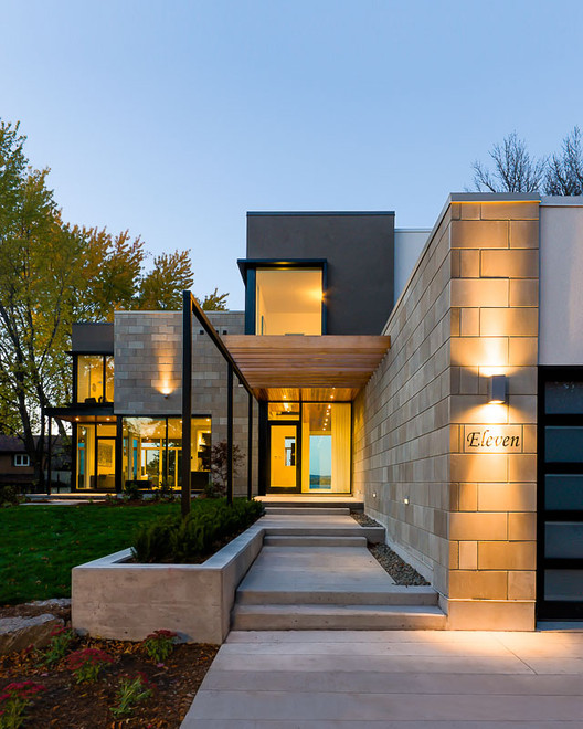 Ottawa River House Christopher Simmonds Architect Archdaily