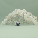 Architecture for Pugs, by Kengo Kuma. Photos by Hiroshi Yoda, courtesy of Architecture for Dogs.
