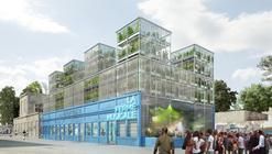 FERME DARWIN / HOLDUP + SOA Architectes