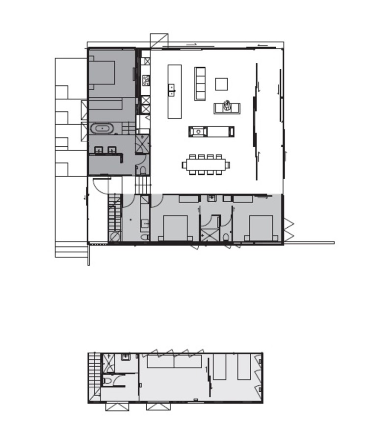 Woolamai house kerstin thompson architects plataforma Thompson house plans