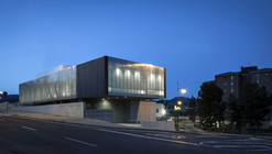 Police Station and Multipurpose Space in Xixona / Daniel Martí & Natàlia Ferrer
