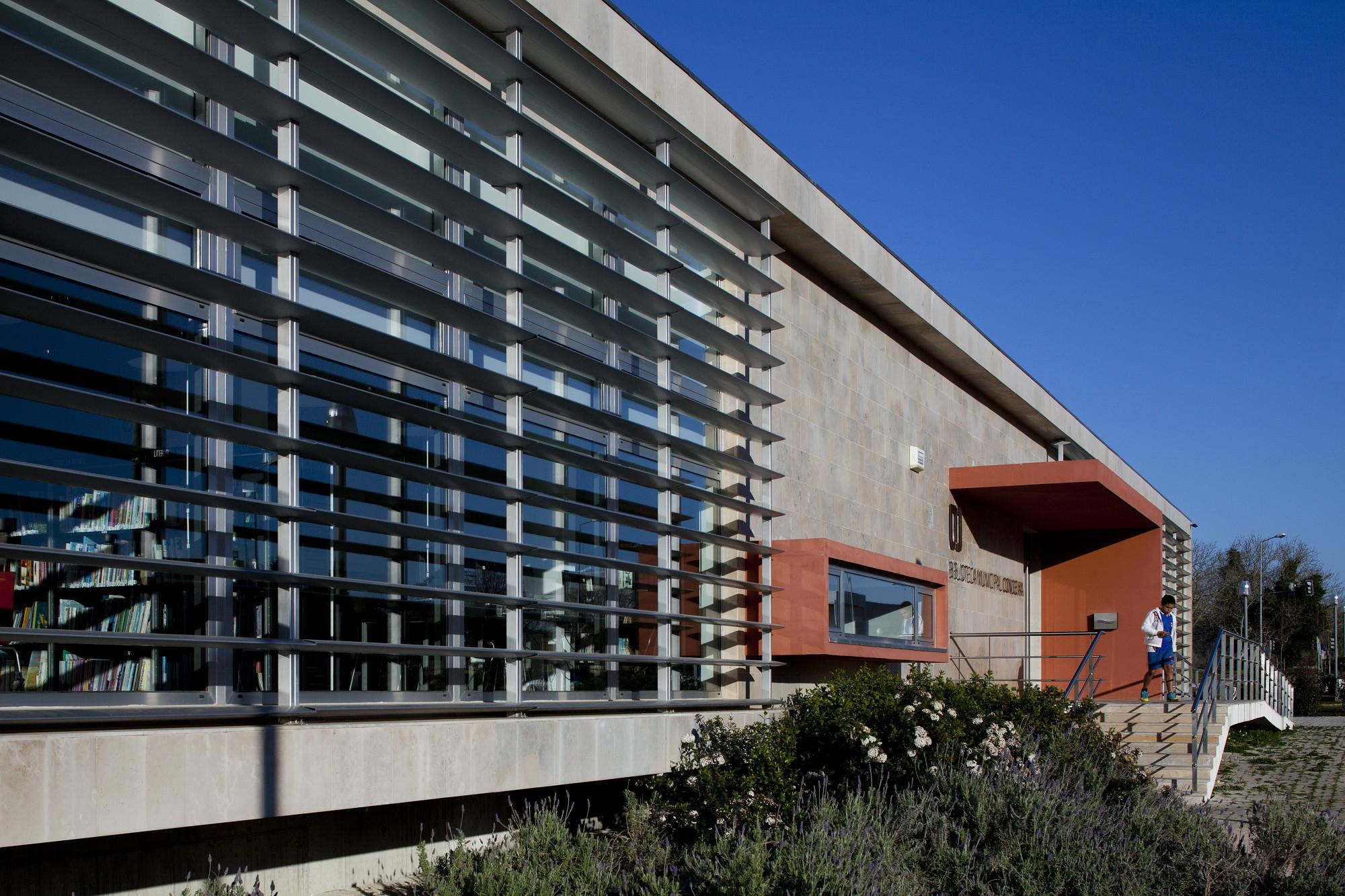 Condeixa Public Library / Sitios e Formas, © Fernando & Sérgio Guerra
