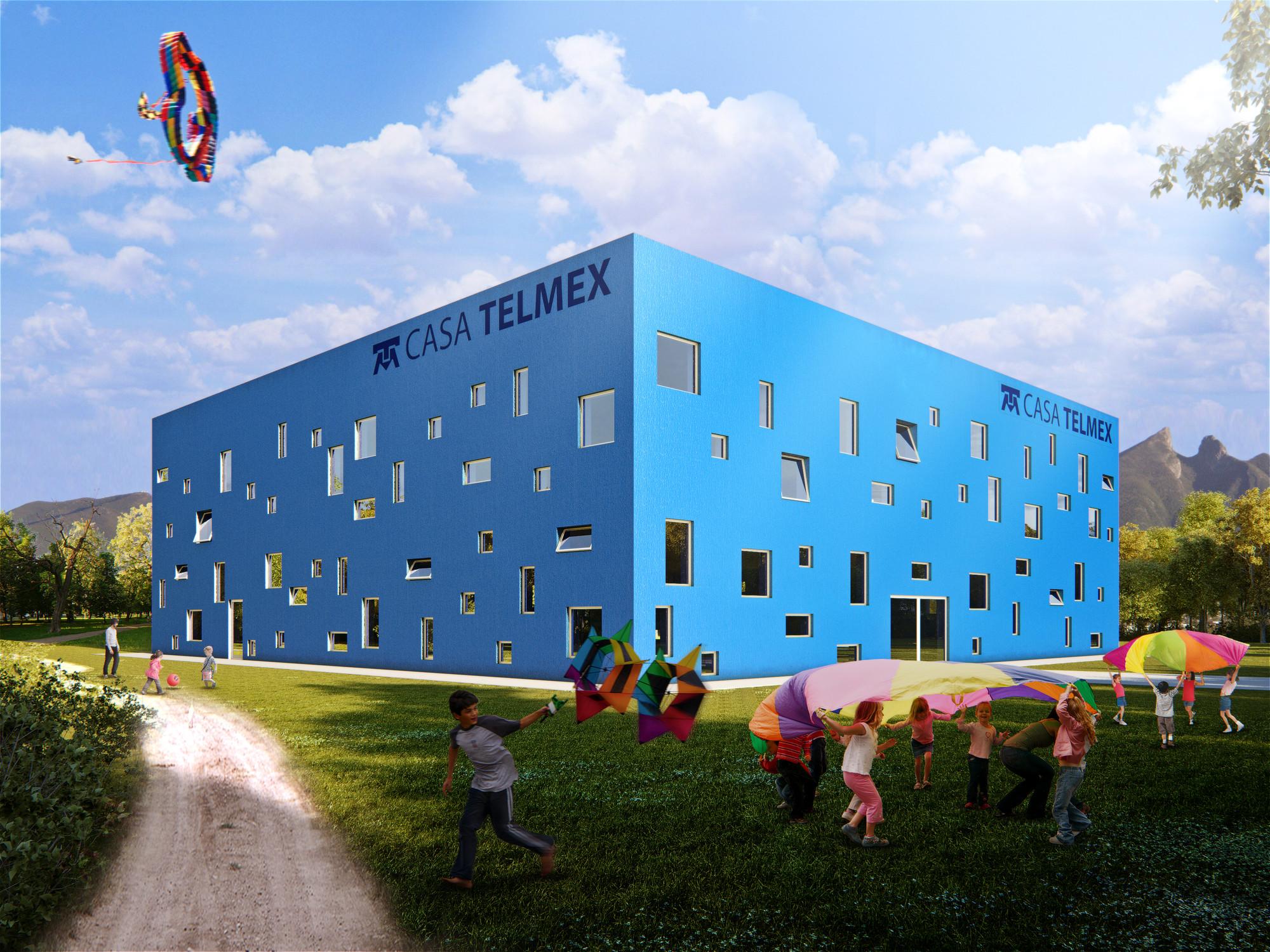 Visualización en Arquitectura: Juan Carlos Ramos [Entrevista], FREE - Casa_Telmex