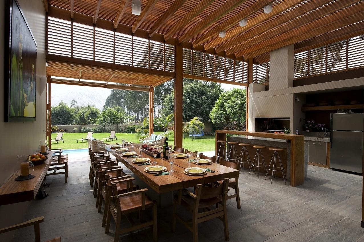 Casa de campo el ombu oscar gonzalez moix plataforma for Casas de campo interiores