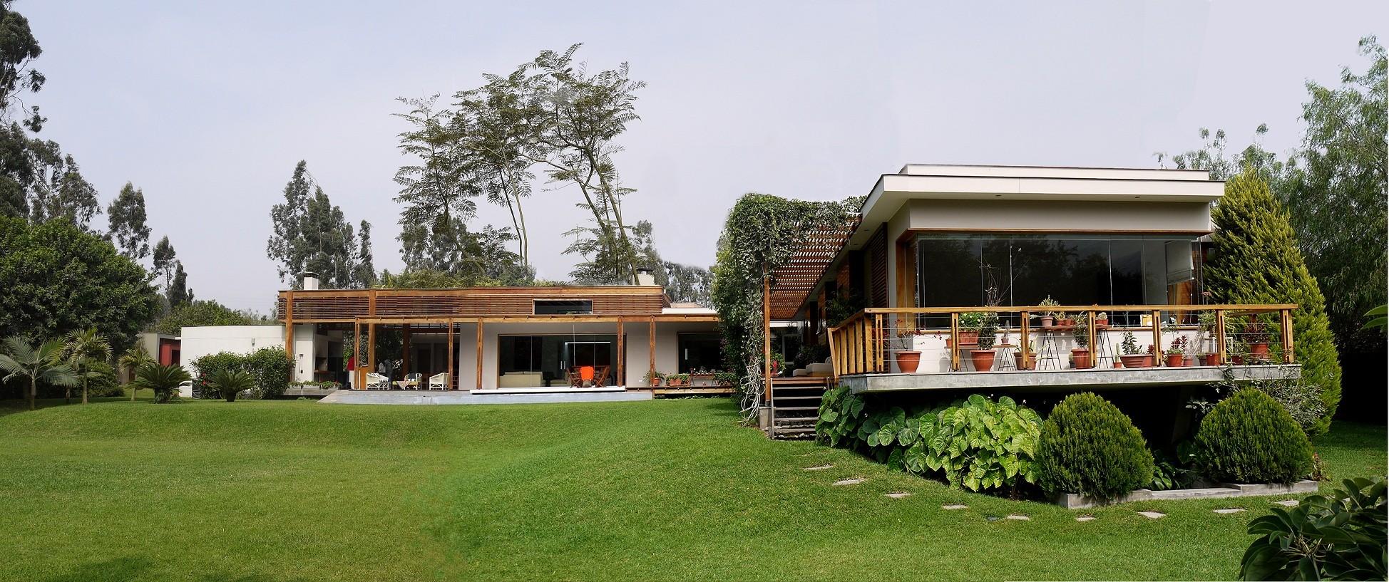 Casa de campo el ombu oscar gonzalez moix plataforma - Casas de campo por dentro ...