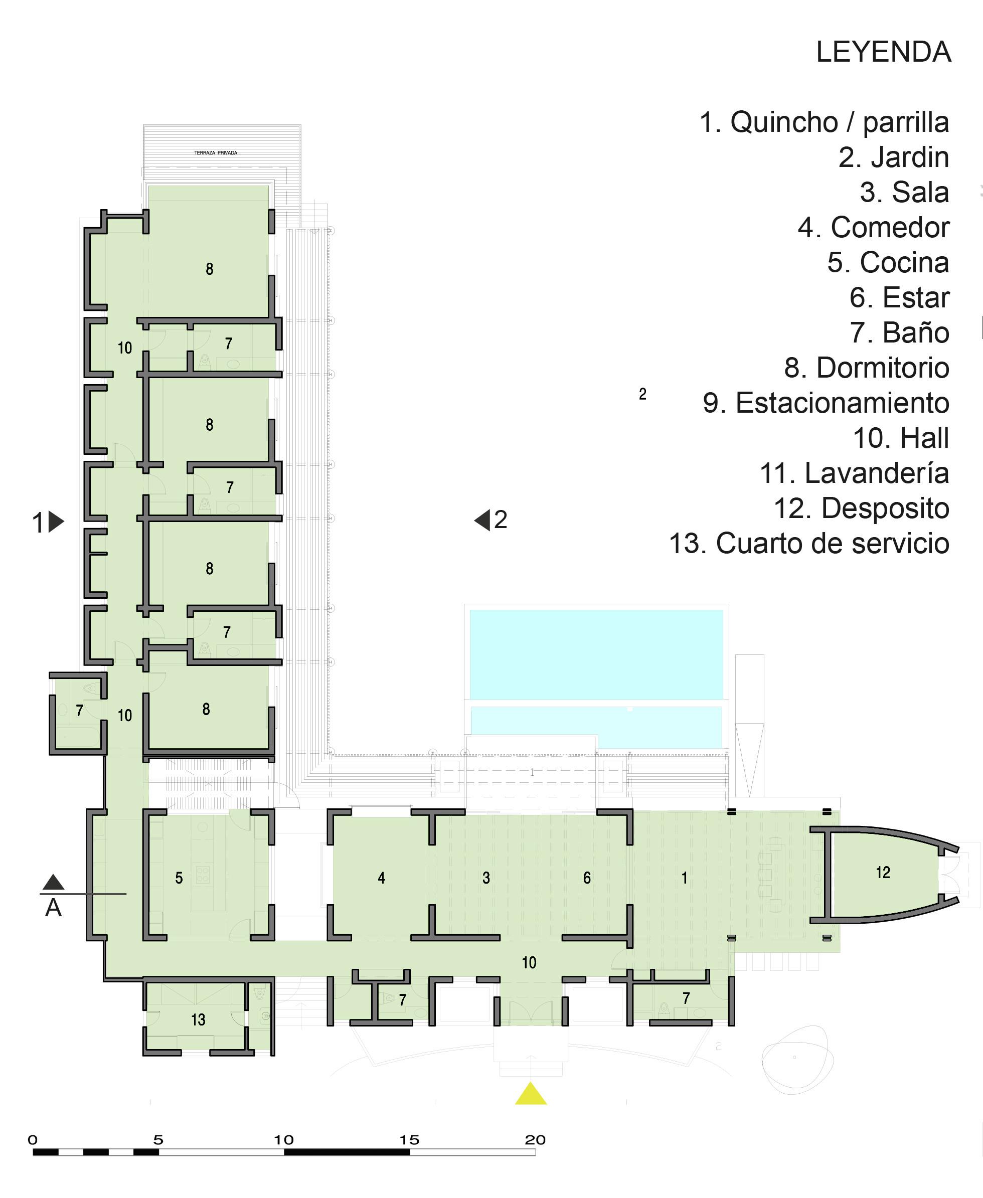 Galería de Casa de Campo El Ombu / Oscar Gonzalez Moix - 17