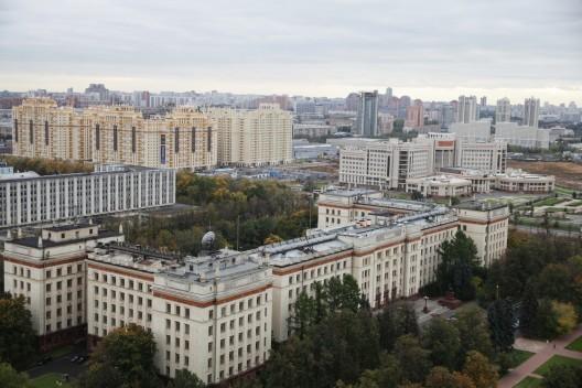 Competencia Internacional para el diseño del Museo y Centro Educacional del 'Polytechnic Museum and Lomonosov Moscow State University'.  , Cortesia de Polytechnic Museum Development Foundation
