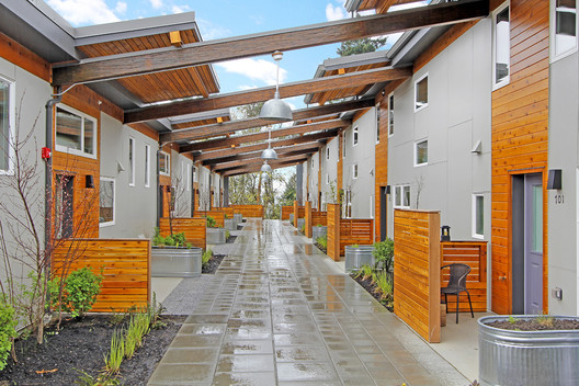 Puyallup Longhouse, a 2013 SEED Award Winner, is a sustainable community center for the Puyallup Tribe, a vulnerable community. Photo courtesy of Puyallup Longhouse.