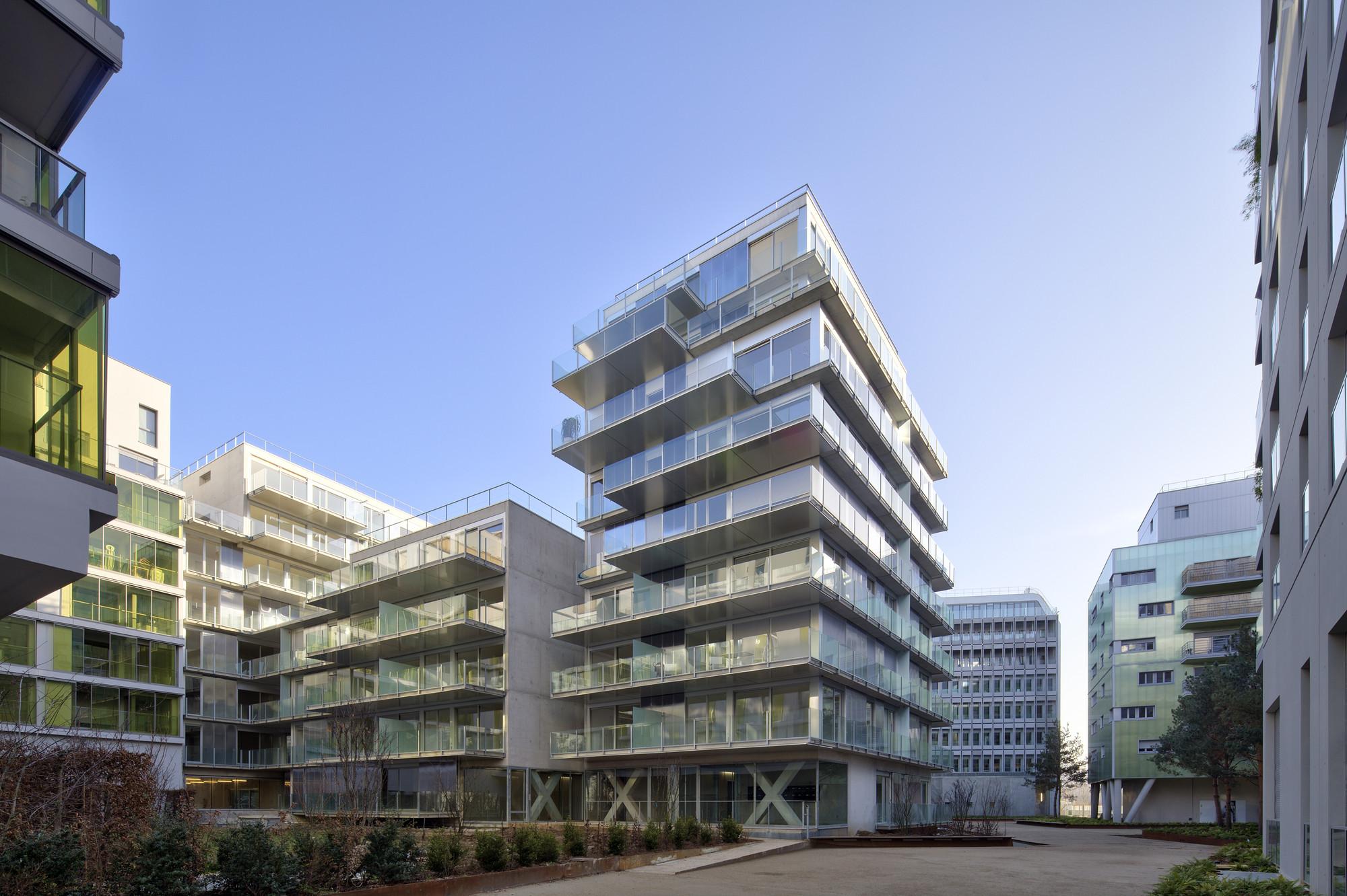 73 apartments ZAC Seguin Rives de Seine - Lot B3B / Philippe Dubus Architectes, © Michel Denancé