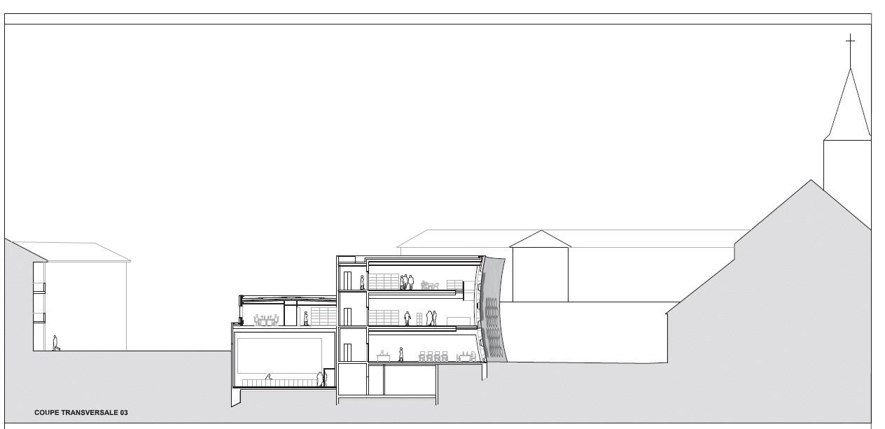 gallery of lons le saunier mediatheque du besset lyon architectes 31. Black Bedroom Furniture Sets. Home Design Ideas