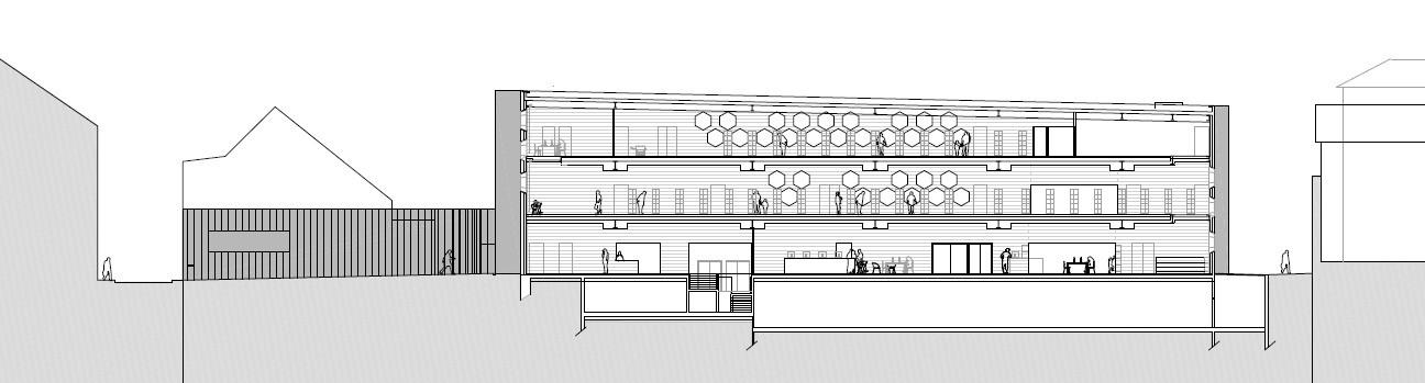 gallery of lons le saunier mediatheque du besset lyon architectes 30. Black Bedroom Furniture Sets. Home Design Ideas