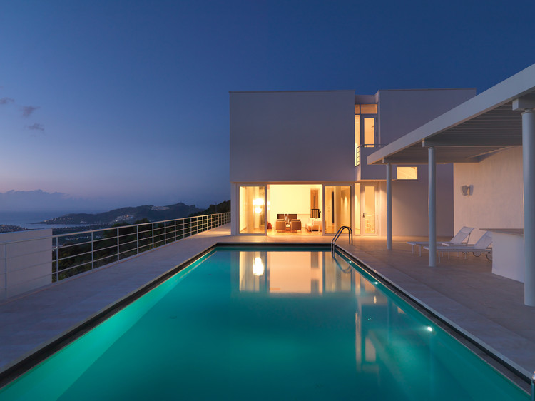 Bodrum Houses / Richard Meier, Courtesy of Courtesy of Richard Meier and Partners