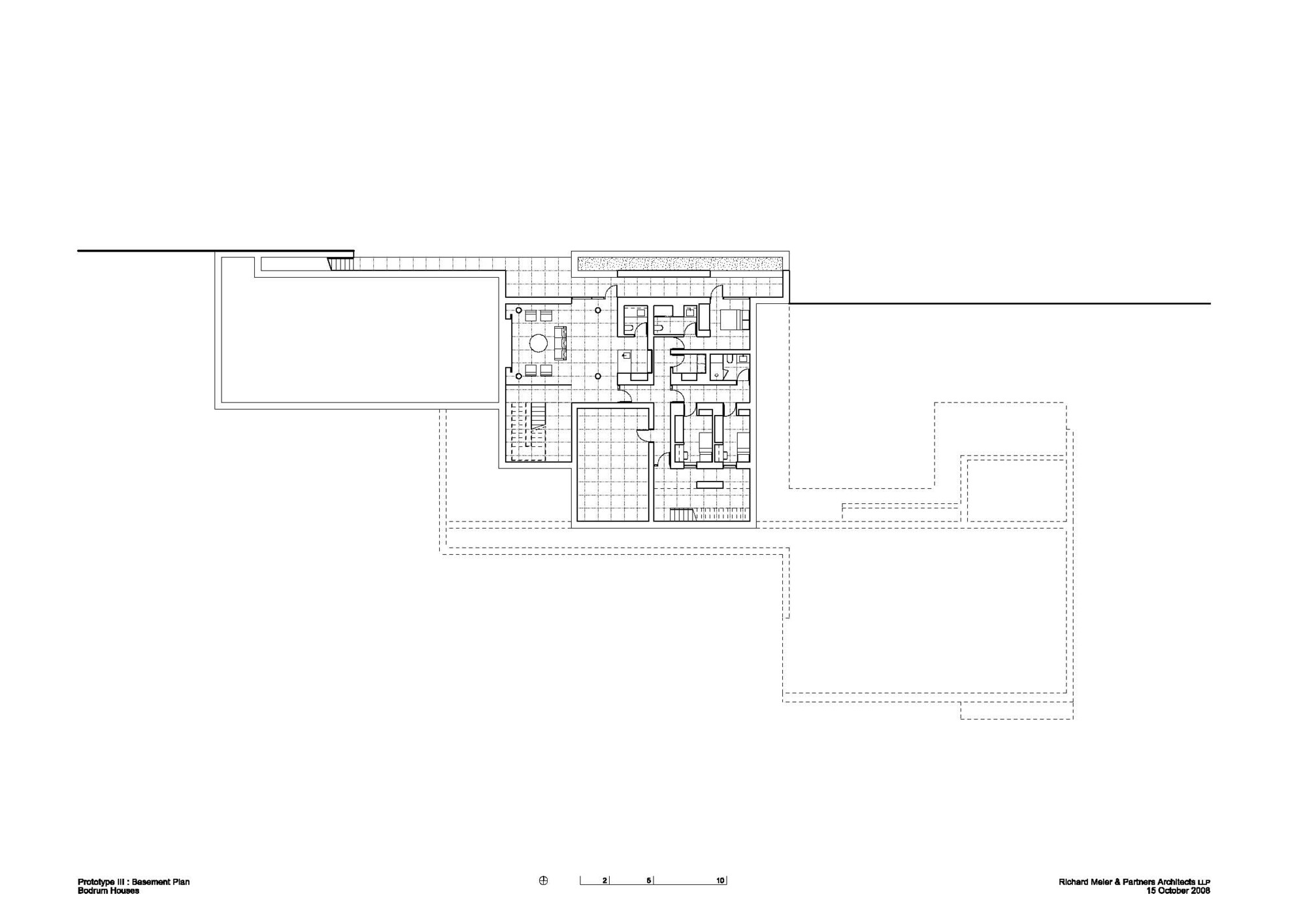 Galer a de casas bodrum richard meier 8 for House designs under 200 000