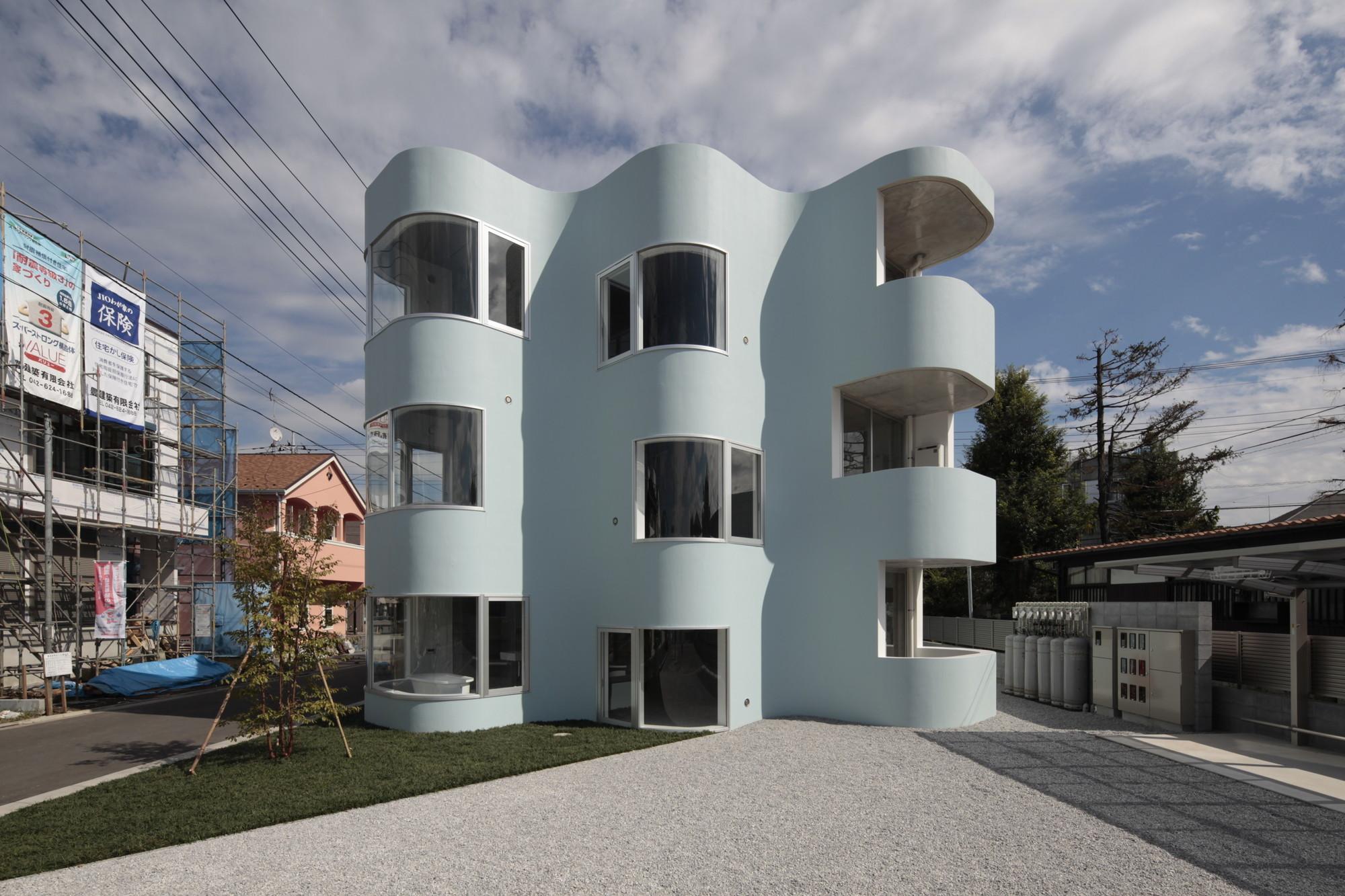 Higashifuchuu Apartments / Mejiro Studio, © Koichi Torimura