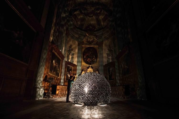 Lotus Dome, Cortesía de Studio Roosegaarde