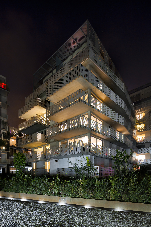 54 logements ZAC Seguin Rives de Seine / PHD Architectes